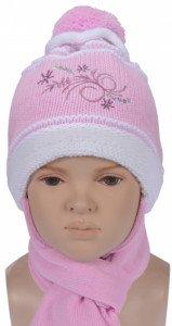 Комплект (шапка+шарф) 4апф 80191