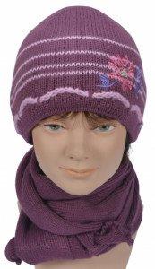Комплект (шапка+шарф) 6апа 80189