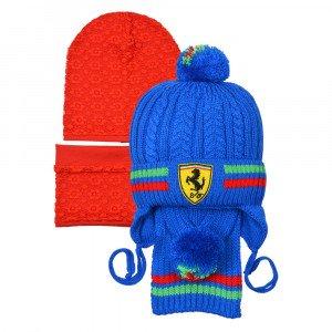 Комплекты (шапка+шарф) сшитые и вязаные