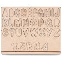 Алфавит английский А303 AL EN